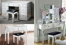 westwood mirrored furniture glass dressing table with