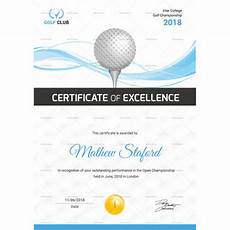 Golf Certificates Templates Golf Certificate Template 9 Word Psd Format Download