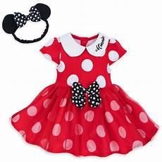 disney bodysuit dress for baby minnie mouse with headband