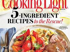 Cooking Light Recipes August 2017 August 2015 Recipe Index Cooking Light