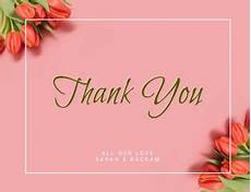 thank you card template hd 570 customizable design templates for thank you