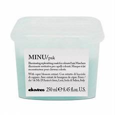 Davines Mask Colour Chart Davines Minu Illuminating Shampoo For Color Treated Hair