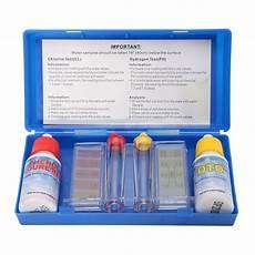 Swimming Pool Test Chart Portable Ph Chlorine Water Quality Test Kit Swimming Pool