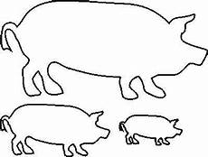 Pig Stencil Printable Painting Discover More Ideas About Free Stencils