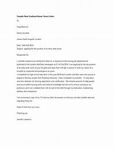 Entry Level Nursing Cover Letters Graduate Nurse Cover Letter How To Create A Graduate
