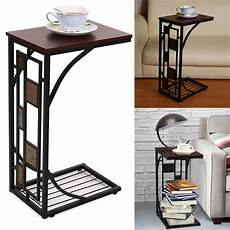 Sofa End Tables 3d Image by C Shaped Side Sofa Snack Table Coffee Tray End Table