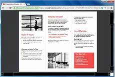 Tri Fold Brochure Powerpoint Template How To Make Printable Medical Brochures In Powerpoint