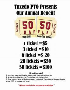 Raffle Ticket Price 50 50 Raffle Fundraiser Flyer Hla Pinterest Posts
