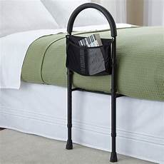 safety bed rail mobility aid adjustable in height with