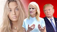kellyanne conway s daughter reacts to mom quitting white