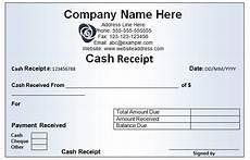 Cash Receipt Format Doc Cash Receipt Template 19 Free Word Excel Documents