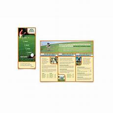 Template For Publisher 10 Microsoft Publisher Brochure Golf Template Options