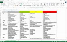 Risk Management Template Risk Management Plan Template Ms Word Excel Templates