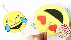 Easy Emoji Art Easy Emoji Diy Paper Spinner Craft Youtube