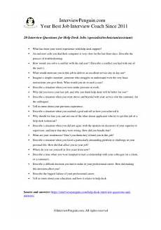 Interview Questions For Help Desk 20 Most Common Help Desk Interview Questions Amp Answers 2020