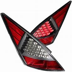 2005 Nissan 350z Airbag Light Anzo Led Lights Nissan 350z 2003 2005 Black Red