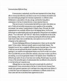 Personal Reflection Essay Free 19 Reflective Essay Examples Amp Samples In Pdf Examples
