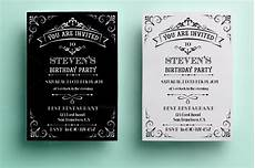 Vintage Party Invitation Vintage Birthday Invitation Invitation Templates On