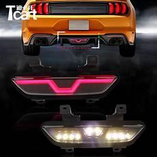 2011 Mustang Led Lights Tcart Led Rear Fog Light For Ford Mustang 2017 2018