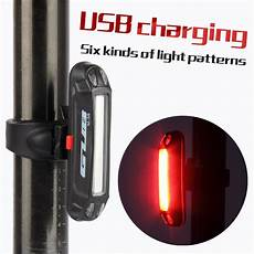 Powerful Mountain Bike Lights Gub Bicycle Light Rear Light Usb Rechargeable