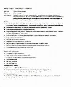 Medical Administration Job Description Medical Office Manager Job Description Sample 6