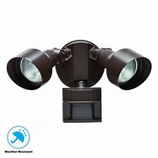 Eave Mounted Motion Light Defiant 180 Degree Motion Outdoor Security Light Df 5599