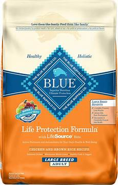 Blue Buffalo Feeding Chart Small Breed Blue Buffalo Life Protection Formula Large Breed