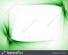 Green Border Design Illustration Of Green Wavy Border