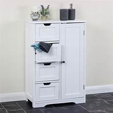 bathroom cupboard white storage cabinet unit bedroom