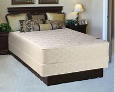 comfort rest gentle plush king size mattress and box