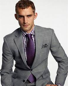 What Color Shirt With Light Gray Suit Milk Shirts How To Wear Ultra Violet Pantone S Color Of