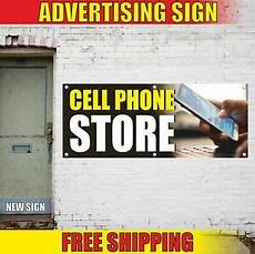 Cell Phone Store Signs Cell Phone Store Advertising Banner Vinyl Mesh Decal Sign