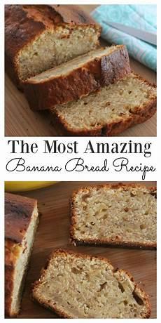 Light Banana Bread The Most Amazing Easy Moist Banana Bread Recipe