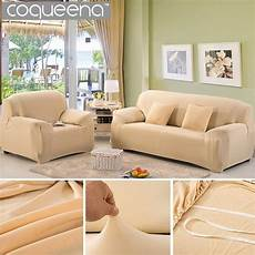 modern solid universal elastic stretch sofa cover for