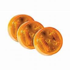 Amber Marker Lights Grote 174 Supernova 2 Quot Round Amber Led Side Marker Light