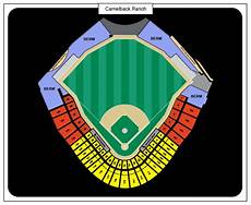 Camelback Seating Chart Los Angeles Dodgers Vs Cubs Tickets March 16 2017 At 1 05
