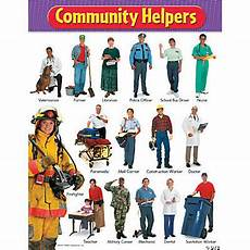 Our Helpers Chart Community Helpers Learning Chart Oriental Trading