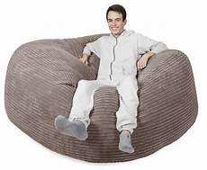 mega mammoth bean bag sofa cord mink bean bag sofa