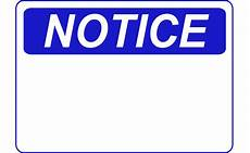 Notice Templates Notice Template Clip Art Library