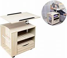 siducal multifunctional bedside table height