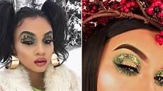 makeup christmas wreath eye makeup is the most festive