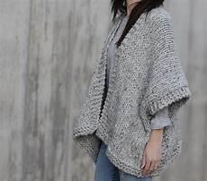 telluride easy knit kimono pattern in a stitch
