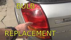 Subaru Outback Brake Lights Not Working How To Replace Brake Bulb On A 2005 Subaru Outback Youtube