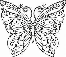 Schmetterling Ausmalbild Drucken Butterfly Outline Stock Illustration Image Of Mariposa
