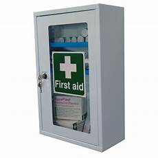 safety aid single clear door cabinet sports