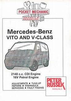 2000 2003 Mercedes Benz Vito And V Class 2148c C Cdi