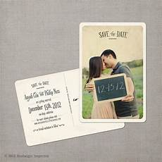 Wedding Save The Date Postcards Save The Date Postcards 4x6 Save The Date Vintage