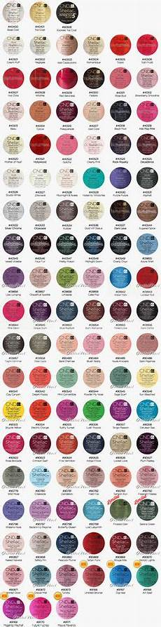 Cnc Gel Polish Color Chart Details About Cnd Shellac Uv Nail Polish All New French