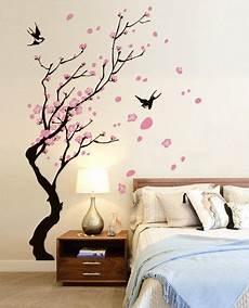 decorazioni murali da letto rami con rondini nel 2019 wall ideas adesivi murali