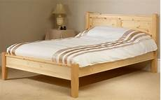 friendship mill coniston solid pine wooden bed frame